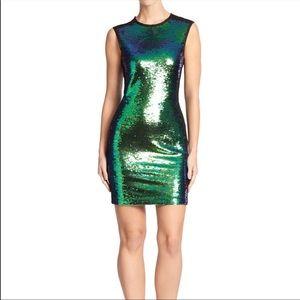 Shoshanna Anna Sequined dress